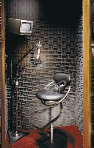 SONEX Classic panels in a recording booth