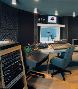 SONEX Classic panels in a broadcast studio